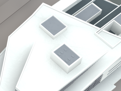 Oslo's Opera From Above model opera norway oslo white grey blue stone architecture building house render c4d cinema4d