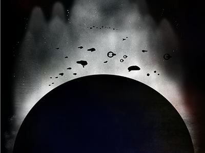 Brave New World Cover brave new world cover illustration scifi spaceships earth black apocalypse future space stars