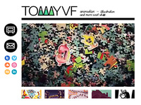 TommmyVF.com tommyvf wesite espresso portfolio web design html css icons animation tommy vad flaaten