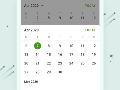 Todoist Upcoming View - Android schedule calendar planning ui todoist todo task manager task project real live feature app