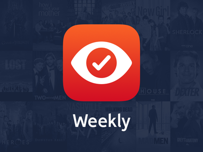Weekly for iOS ios ios8 app tv television tracking shows programmes season