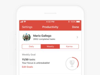 Todoist Productivity - iOS