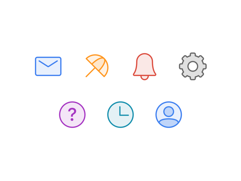 Twist Settings Redesign icons settings app live project real work ux twist team remote web android ios interaction doist ui communication