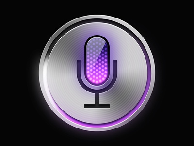 Siri Recreation (Final) with PSD microphone iphone 4s ipad mini pink photoshop psd iphone 5 iphone voice ai free silver button ipad siri icon apple ios ios6