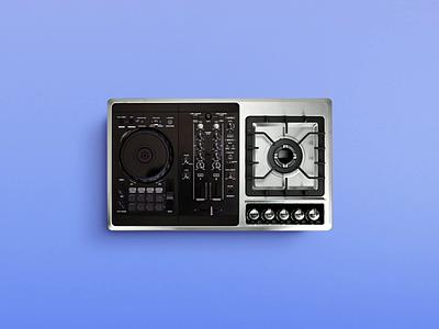 Sounds good! 🎹 black blu kitchen relax dj monday sound fire cook music playground instagram aftereffect photoshop postproduction illustration digital creativity artist art