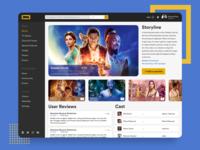 IMDb Header Redesign Concept Exploration