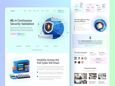 "🛡️ ""Security Validation"" Landingpage exploration saas landing page saas website secure content how it works vektora website homepagedesign security faetured simulate homepage design ux web landingpage validation secutiry ui clean"