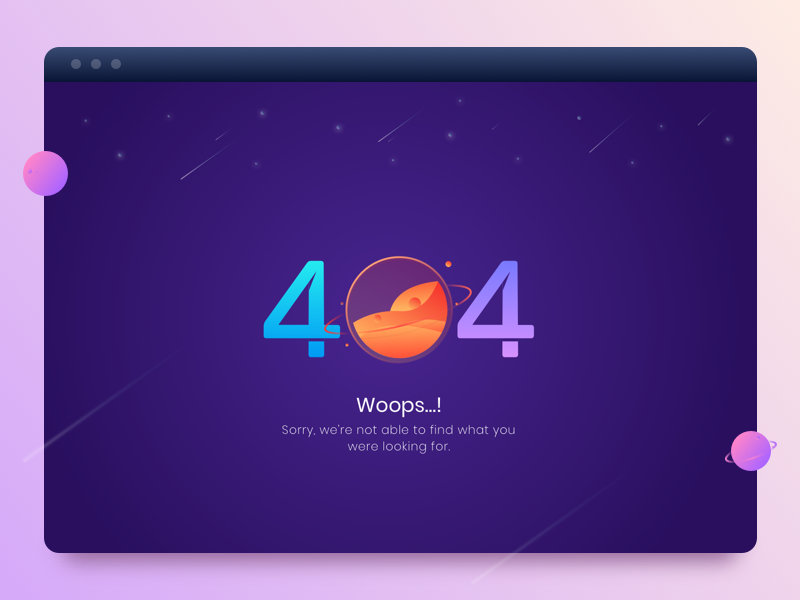 404 Not Found exploration spacehip underconstruction earth space planet web illustration error page notfound 404