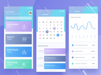 💑  Event Invitation Management Apps Design
