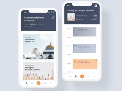 Daily Activity for Ramadan Kareem fasting amaliyah jamaah events sharing schedule clean activity daily apps ramadhan ramadan