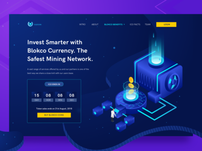 Smart Invest Bitcoin page
