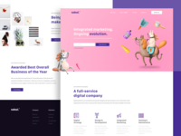 Landing Page Marketing Agency Evolution