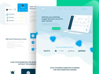 Marketing Design Landing Page