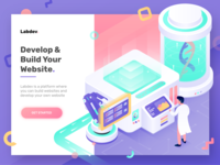 Develop and Build Website - Landing Page