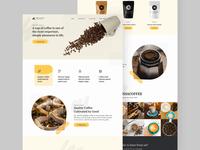 Noansa Coffe Shop Landing Page
