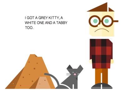 kitty food mountain