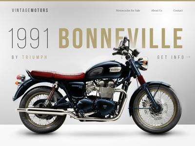 Vintage Motorcycles Homepage