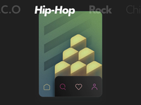 Music Genres Geometric Illustrations