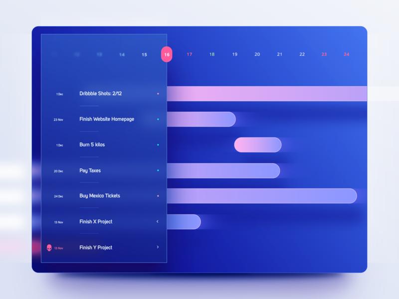 Task Manager App Concept minimal sketch dark clean stfn ios goals focus ux blue deadline productivity task management task app app ui