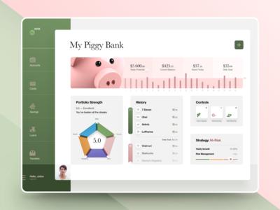 Piggy Bank Web App