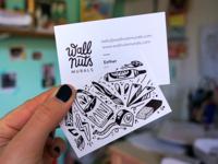 business cards Wallnuts