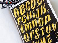 Sketchbook Alphabet