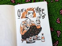 Sketchbook Lady