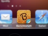 """""""Berichtsheft"""" App Icon"""