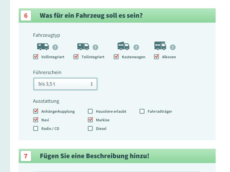 Formular form input client work photo