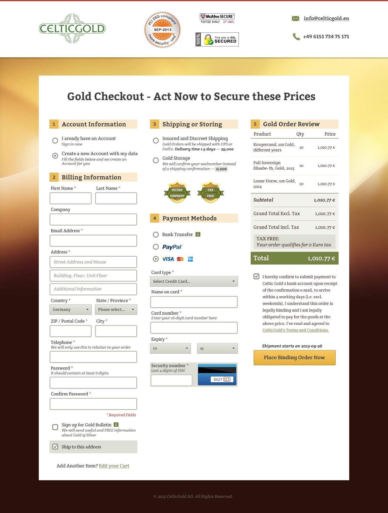 Checkout a v.1.2 gold