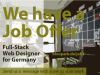 Job offer - Web Designer / Web Developer
