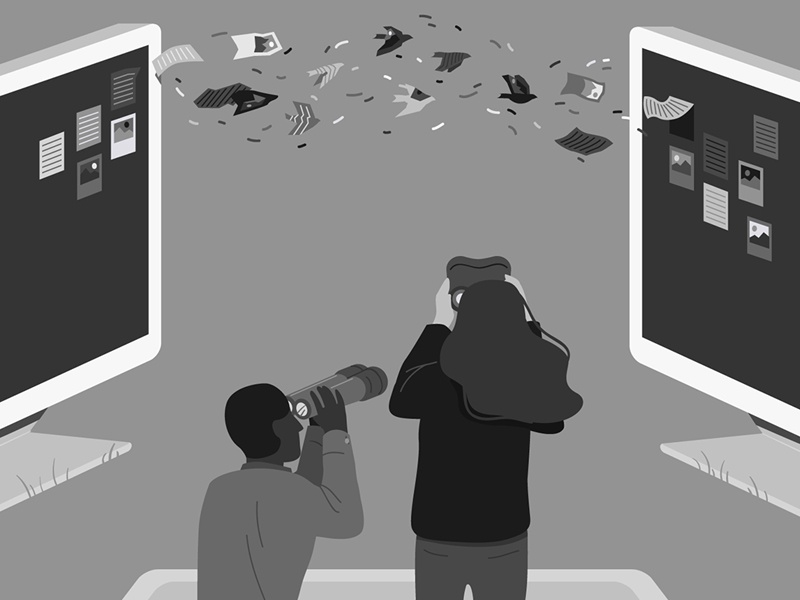 Editorial 21 project migrating redux technology computer files watching file editorial illustration