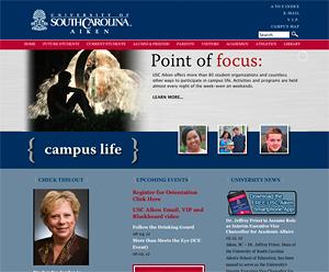 USCA.edu website university south carolina