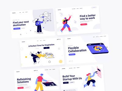 Illustration Design - Free [XD] design illustration creative inspration ugurates2017 2020 app ux ui
