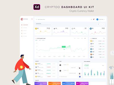 Crptoo Currency Dashboard Ui Kit prototypes dashboard inspration uiux ugurates2017 free 2020 prototype ux ui