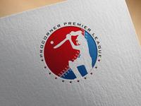 Cricket League Logo Design