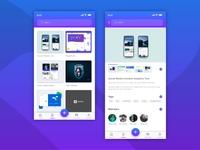 Project listing app ui