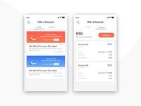 Riding App - Offer & Rewards UI UX Design