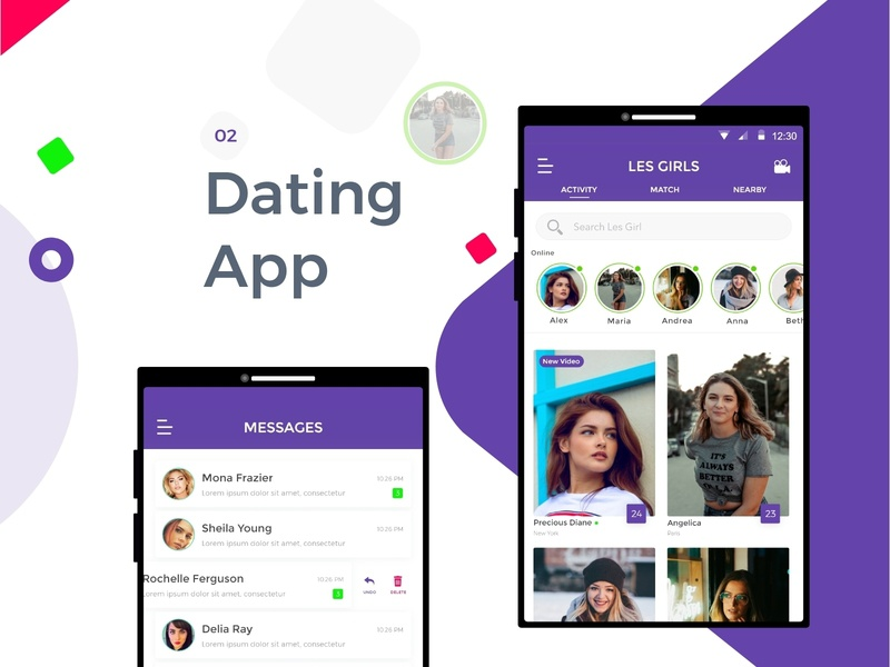 Android dating app icons