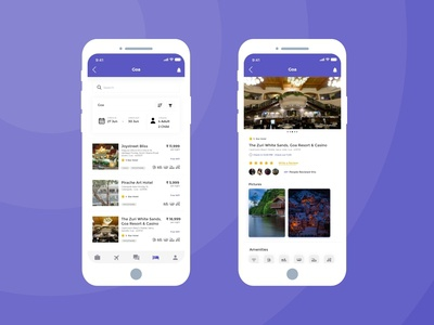 Hotel Booking App UI - Part 2