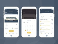 Bus Booking App UI design