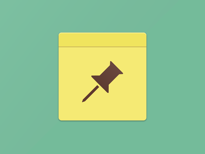 Flat Notes Icon and Ideas notes mike miller android top secret new project yellow notepad noteifications flat ui button app icon