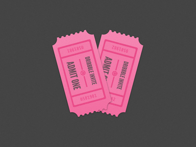 Couple Dribbble Invites dribbble invites dribbble invites prospect recruit mike miller free flat tickets ticket invite