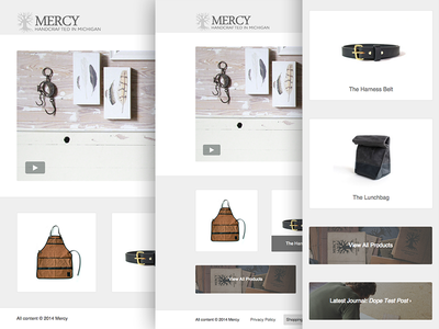 Mercy Landing Page mercy supply mike milla responsive website desktop tablet phone user interface user experience
