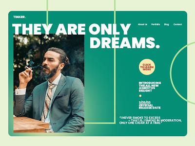 Tinker. Dreams. ui logo illustration flyer artwork design dwayneadams graphicdesign photoshop