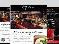 Madam's Modern Kitchen & Grill - New Orleans