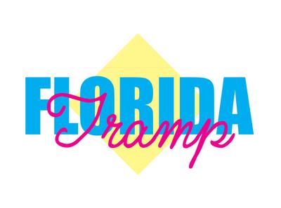 Florida Tramp Branding graphic design photoshop design dwayne adams branding logo