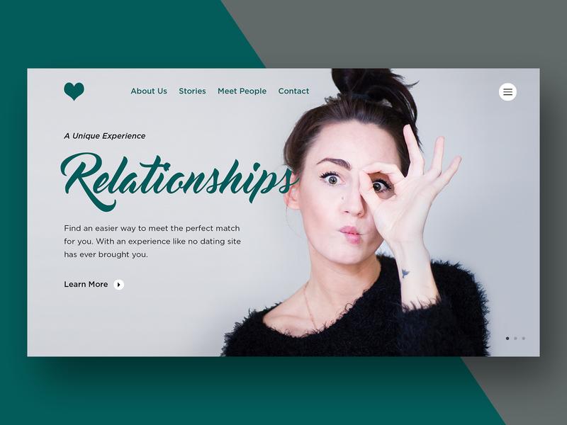 Relationships Dating Website Mock-up website branding design dwayne adams graphicdesign photoshop
