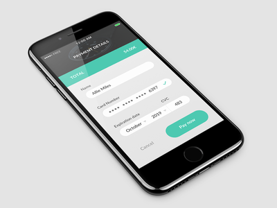 Daily UI challenge #002 – Credit Card Checkout watch checkout card credit app ux ui dailyui