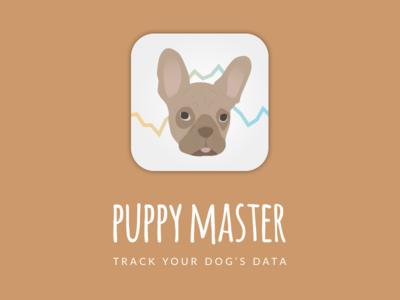 Daily UI challenge #005 – App Icon tracking data puppy dog icon app ux ui challenge dailyui